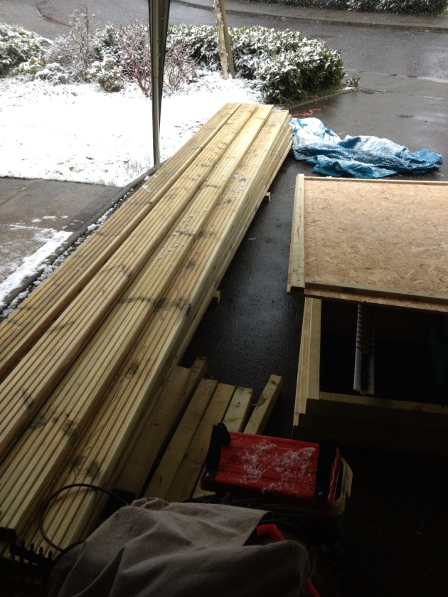 Building a Wood Flatbed For